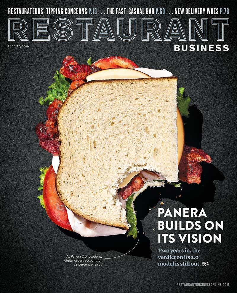Restaurant Business Magazine February 2016 Issue