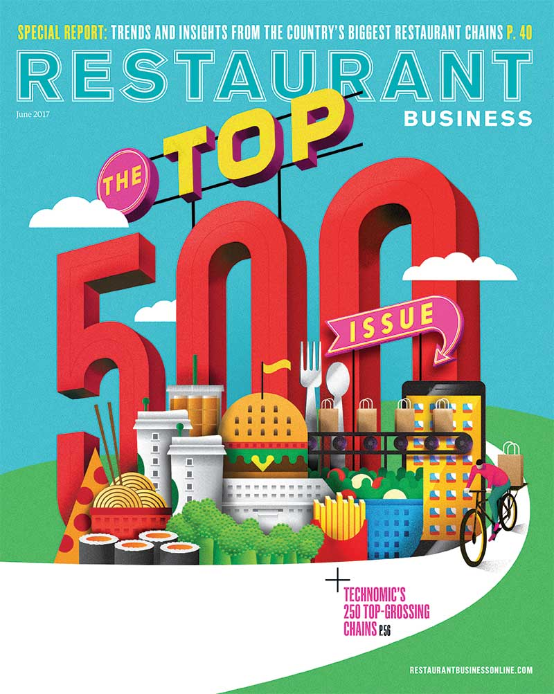 Restaurant Business Magazine June  2017 Issue