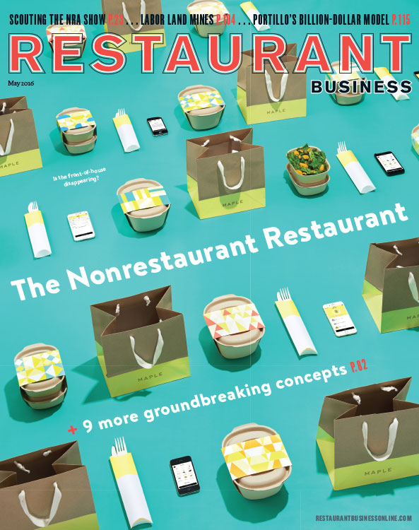 Restaurant Business Magazine May 2016 Issue