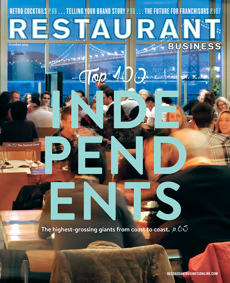 Restaurant Business Magazine October 2015 Issue