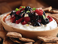 Goat Cheese and Mixed Berry Fondue
