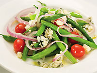 Green Bean and Moody Blue Salad