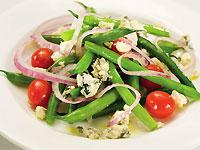 Green Bean and Moody Blue Salad