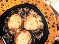 Wild Rice Onion Soup