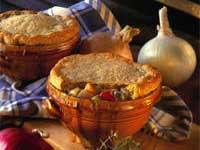 three onion pie