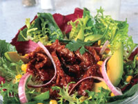 BBQ Beef Salad