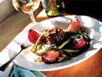 Roasted Onion and Wild Rice Salad