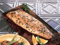 Planked Arctic Char