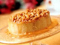 Peanut Caramel Flan