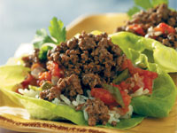 Latin Lettuce Wraps