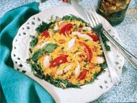 Mediterranean Pecan Chicken Salad