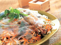 Soft Stacked Spring Roll