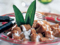 North Carolina Sweet Potato Gnocchi with Mascarpone Cheese