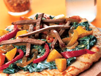 Indian-Style Pizza