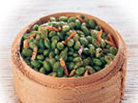 Spiced Edamame and Almonds