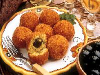 Sicilian Rice Balls Olivetti