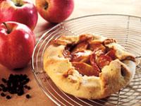 Rustic Apple-Pepper Tart