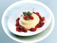 Roasted Garlic Parmesan Flan