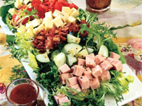 Double Smoked Cobb Salad