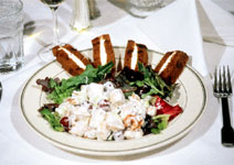 Country Club Turkey Salad with Finger Sandwiches