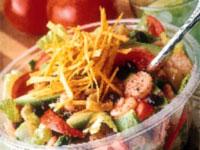 Rock Shrimp and Tomato Salad