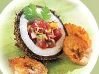 Tropical Tuna Tartare
