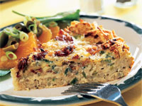 Potato-Crusted Quiche