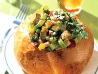 Curried Turkey Salad Bowl
