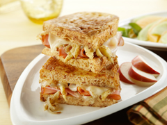 Jam-on-Ham Sandwich