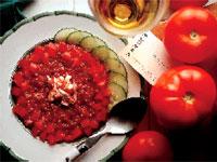 Florida Tomato and Lobster Gazpacho