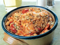 Sausage, Chicken, and White Bean Cassoulet