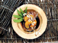 Pork Chops with Peach Teriyaki Glaze