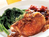 Maple Brined Pork Chops