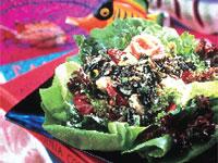Tuna and California Wild Rice Niçoise Salad