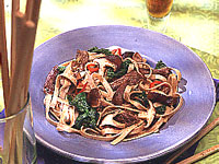 Udon Noodles with Five-Spice Sirloin