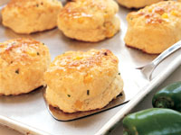 Jalapeño Corn Biscuits
