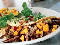 Duck Tacos with Mango Salsa