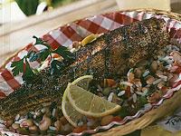Cajun-Spiced Catfish With Hoppin' John Salad