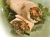 Peppered Salmon & Goat Cheese Rollups