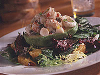 Avocado Seafood Salad