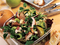 Roasted Chicken and Fruit Salad