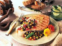 Ranchero Grilled California King Salmon Steak