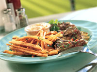 Mojo-Marinated Skirt Steak With Yuca Frites