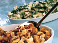 Roasted Cauliflower and Squash with Cumin Oil