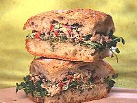 Wasabi Tuna Sandwich