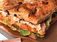 Caramelized Fennel Focaccia with Red Onions