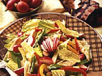 Warm Chicken and Radish Salad