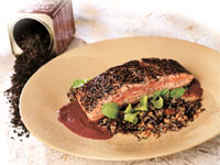 Tea Rubbed Salmon