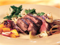 Five-Spice Duck with Onion-Mango Marmalade