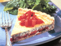 Roasted Florida Tomato Tart